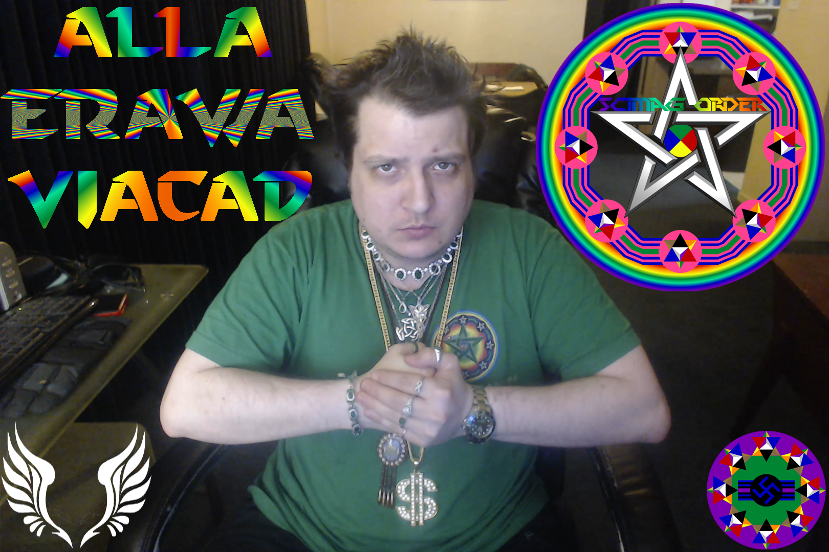 Dr. AllA Erawa Viacad, The Supreme ArchMage Of The Illuminati
